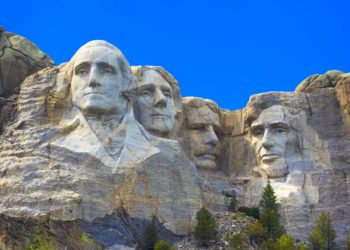 Mount Rushmore and the Badlands